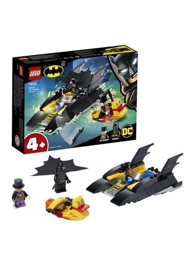 Lego Süper Heroes Batboat The Penguin Pursuit! 76158 Renkli